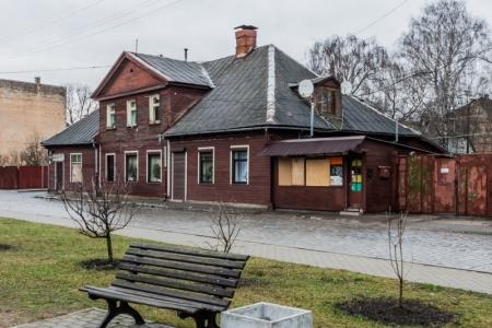 Houten huisjes Riga, Letland