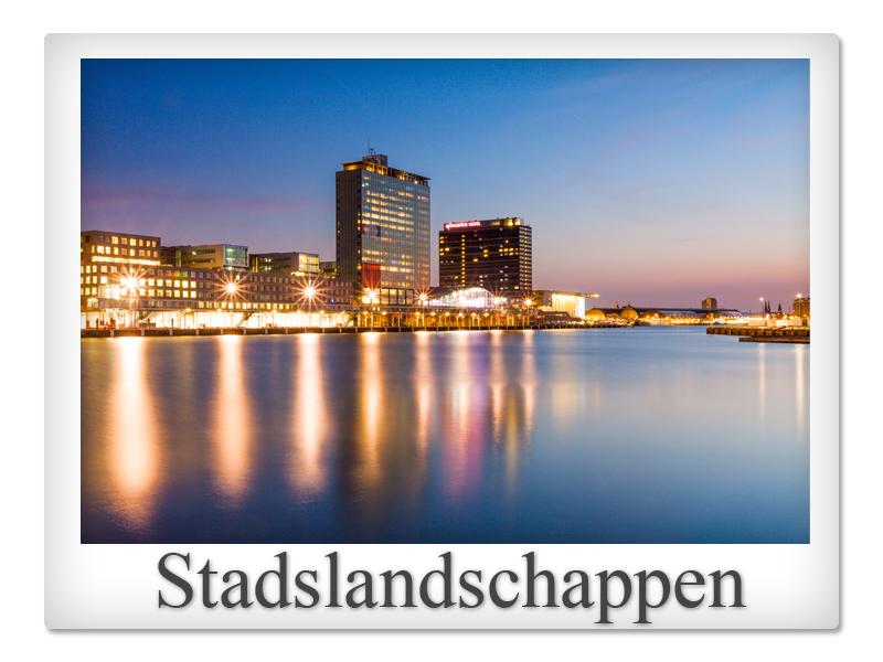 Polaroid stadslandschappen